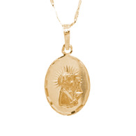 First Communion 3 Gold Pendant - 14 K.  1.7 gr. - FC272