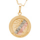 First Communion Gold Pendant - 14 K.  1.1 gr. - FC279