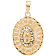 First Communion Gold Pendant - 14 K.  1.9 gr. - FC311