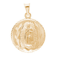 Virgin Mary / Jesus 14K Gold - 2 Sided - 3.1 Gr. - MRD-415 Side 1