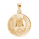 Virgin Mary / Jesus 14K Gold - 2 Sided - 3.1 Gr. - MRD-415 Side 2