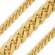 Cuban Yellow Gold Chain - Cuban WP - CH451