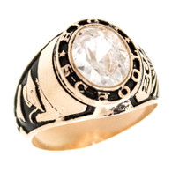 Graduation Ring / Yellow Gold - 9.7 Gr. - GDR-321