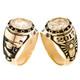 Graduation Ring / Yellow Gold - 9.7 Gr. - GDR-321