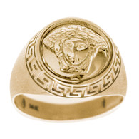 Yellow / White Gold Ring - 14 K - RGO-257