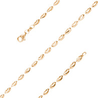 Yellow Gold Bracelet  - BLG751