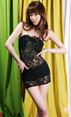 Sexy Black Lace Club Dress With Hot Shorts
