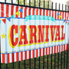 Large Carnival Sign Decoration