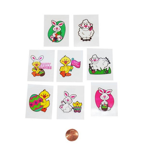 Kids Easter Tattoos - Washable Tattoos