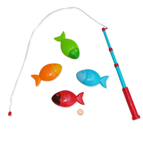 Magnetic fishing game a great catch for Small plastic fish