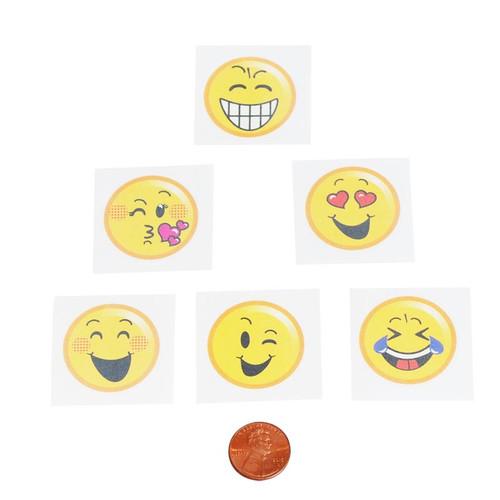 Emoji Kids Removable Tattoos
