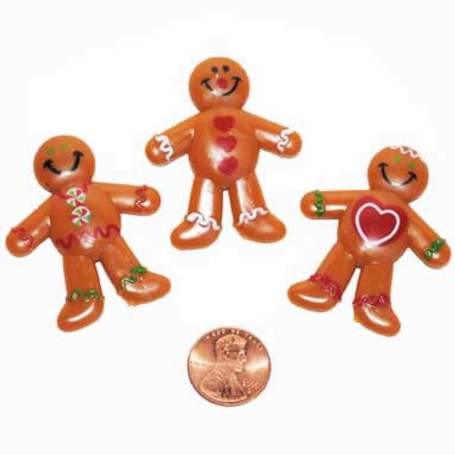 Mini Gingerbread Toys