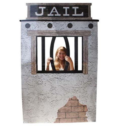 Cardboard Jail Prop