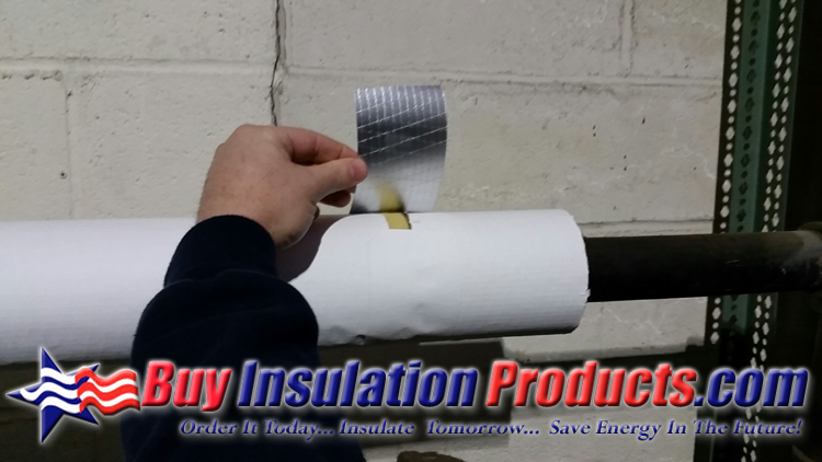 Asj sealing tape for fiberglass pipe insulation buy