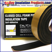Elastomeric Self-Adhesive Insulation Foam Tape