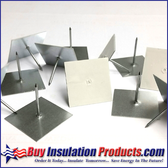 Self Sticking Insul Hangers (Bulk Box)
