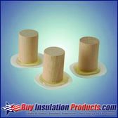 Pipe Insulation Support Pegs (With PVC Disc)