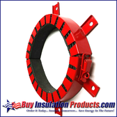 "MetaCaulk Intumescent Collar for 6"" Pipe"