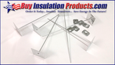 "6-1/2"" Perforated Insul Hangers w/Washers"