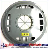 Replacement HEPA Filter for Euroclean GD-930 HEPA Vacuum Top View