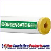 Condensate Ret. Pipe ID Label (Green/White)