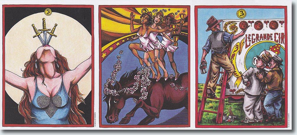 LeGrand Circus & Sideshow Tarot