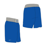 Nike Boxing Short - Royal / Pewter