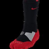 Nike Hyperelite Basketball Crew, Black/University Red