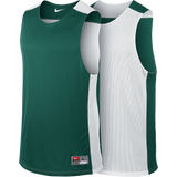 Nike League Reversible Tank - Dark Green / White