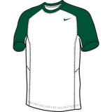 Nike Elite Short Sleeve Shooter - White / Dark Green