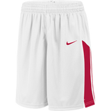 Nike Womens Fastbreak Short - White/Scarlet
