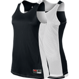 Nike Womens League Reversible Tank - Black/White