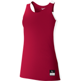 Nike Womens League Reversible Tank - Scarlet/White