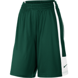 Nike Womens League Practice Short - Dark Green / White