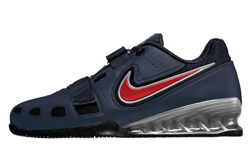 ... Obsidian / Red / White. Nike Romaleos 2 Weightlifting Shoe - The true  champion! Delivers maximum support and two large