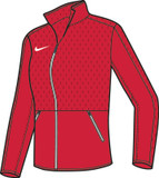 Nike Rivalry Jacket - Scarlet / White