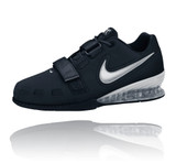 Nike Women's Romaleos 2 Weightlifting Shoes - Black / Silver