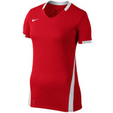 Nike Women's Volleyball Ace S/S Game Jersey - Scarlet/White