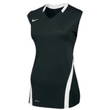 Nike Women's Volleyball Ace Tank - Black/White