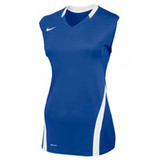 Nike Women's Volleyball Ace Tank - Royal/White