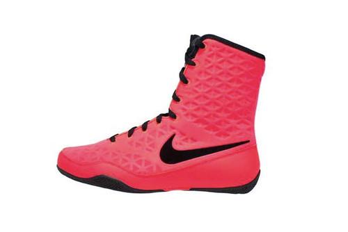 ... Nike KO Boxing Shoe - Hyper Punch/Black. Image 1