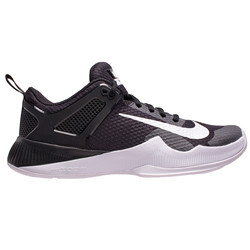 ... Nike Women's Air Zoom Hyperace Volleyball Shoe - Black/White. Image 1