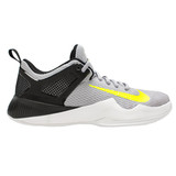 Nike Women's Air Zoom Hyperace Volleyball Shoe - Wolf Grey/Volt/Black