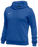Nike Women's Club Fleece Hoody - Royal/White