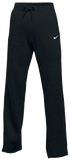 Nike Women's Club Fleece Pant - Black/White