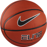 Nike Elite Competition 8-Panel (Size 6) Basketball - Amber/Black/Platinum