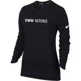Nike Women's UWW Dry Elite Top - Black/White