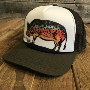Hog Brown Trucker Hat