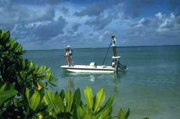 Fly fishing in the Bahamas!