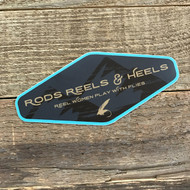 Rods Reels & Heels Main Logo Sticker